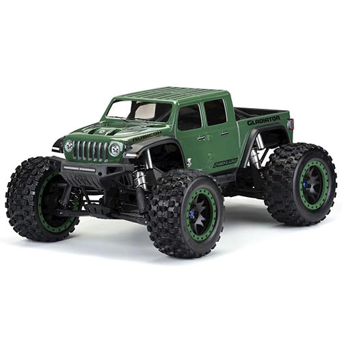 하비몬[#AP3533-17] Pro-Line Jeep Gladiator Rubicon Pre-Cut Monster Truck Body (Clear) (X-Maxx)[상품코드]PRO-LINE RACING
