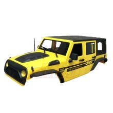 하비몬Jeep Hard Plastic Body Kit 313mm (Parts A) Ver.2 For Axial SCX10 RC4WD TF2 Yellow[상품코드]XTRA SPEED
